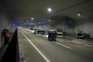 Brandveilige tunnel blijft filemonster