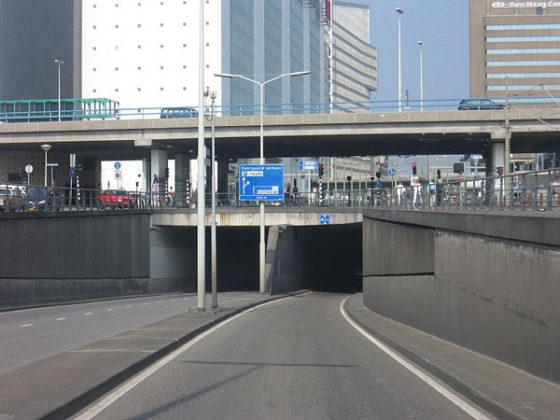 Koningstunnel in Den Haag weer open