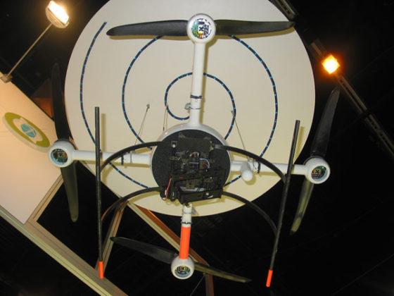 Quadrocopter helpt bij karteren