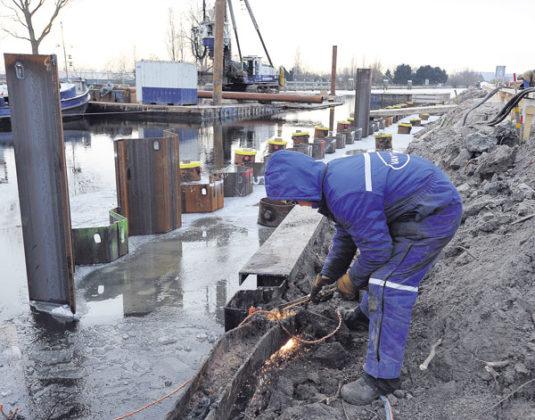 Werken aan de Bosrandbrug