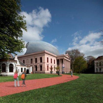Project museum de Fundatie: Blob-achtige toonzaal in het werk getim merd