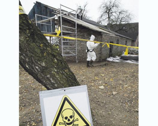 'Asbestscholen' weigeren maatregelen