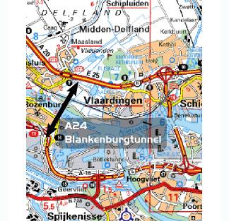 Vlaardingen: onderzoek naar geboorde Blankenburgtunnel nodig