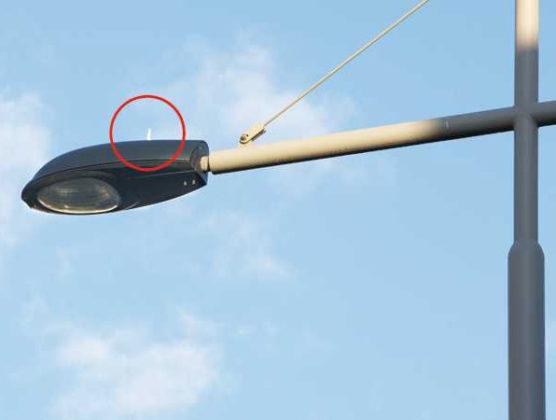 Straatverlichting met afstandsbediening