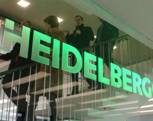 Omzet Heidelberg groeit