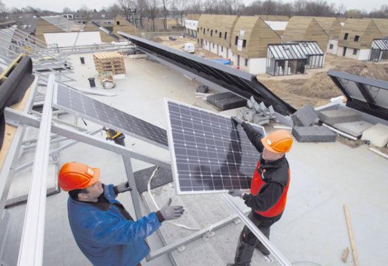 Serres dragen steentje bij aan energieneutrale woningen