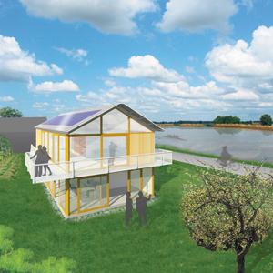 ACHTERGROND Architect bouwt met 'cradle to cradle'-materialen