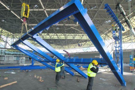 Flexibel staal op beursvloer