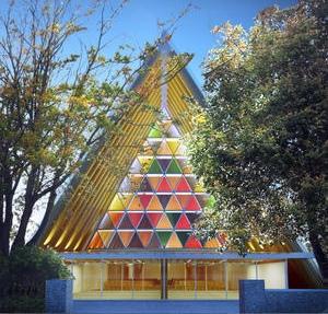 Christchurch krijgt kartonnen kerk