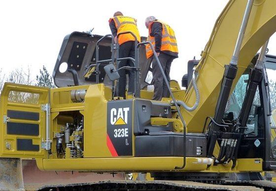 Veel nieuwe wegenbouwmachines op Intermat