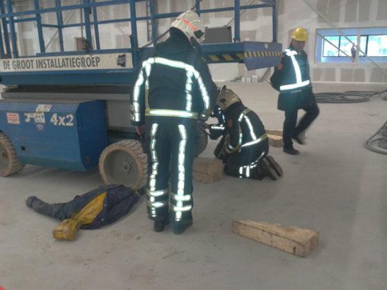 Brandoefening op bouwplaats 'ondergeschoven kindje'