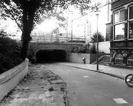 Vergeten tunnel als fietsenstalling