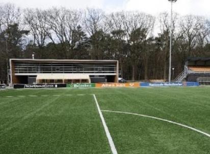 Recordpoging toplaag sportveld renoveren
