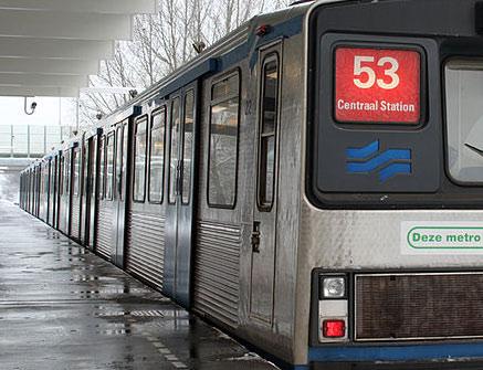 Spoororder Amsterdam voor BAM-dochters