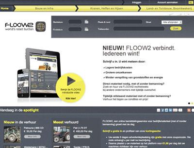 Materieel delen met Floow2