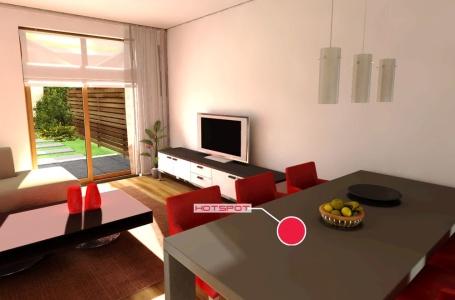 Fotorealistisch door nieuwe woning