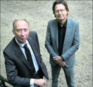 Nico Rietdijk (links) en Jan Fokkema.