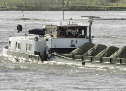 Droogte gevaar voor levering én kosten bouwmateriaal: schepen vervoeren minder zand en grind