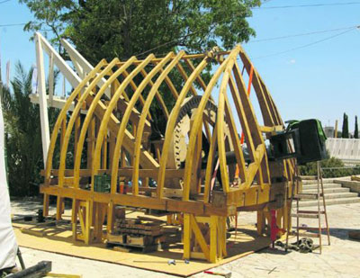 Nederlanders herbouwen Israëlische molen
