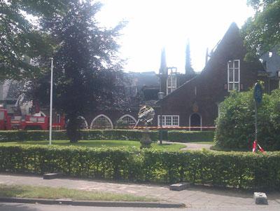 Gemeentehuis Waalre deels gesloopt