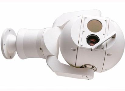 Beveiligingscamera met optische en thermische functies