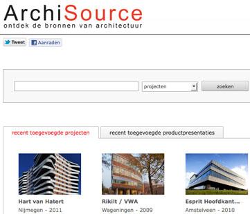 Architecten starten website over bouwprojecten