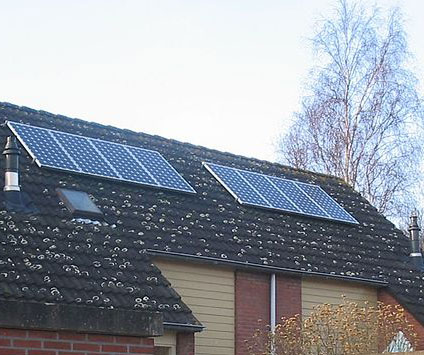 Aantal geplaatste zonnepanelen neemt toe