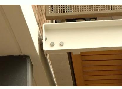 'Balkons ondeugdelijk gemonteerd'