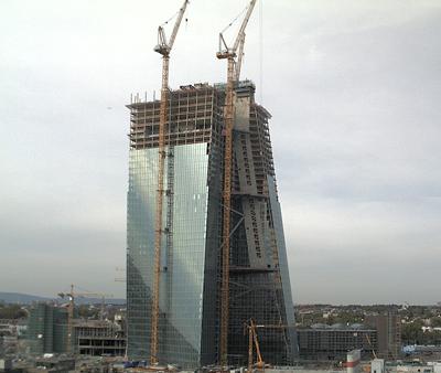 Bouw ECB-kantoor miljoenen duurder