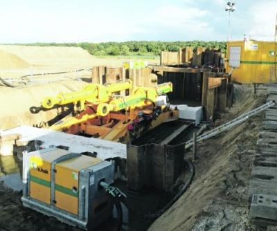 Aangepaste tunnelboor kan tot 1400 meter lange leiding aan