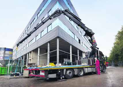 'Topsector logistiek biedt bouw efficiëntievoordelen'