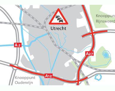 2×7 rijstroken voor ring Utrecht