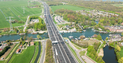 Verbreding snelwegen heeft in 2017 positief effect op files