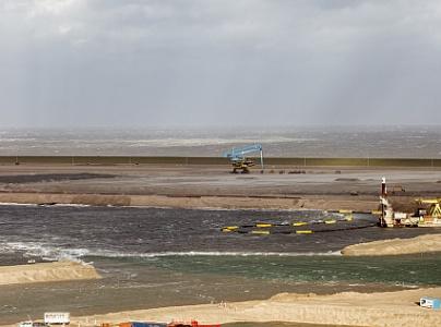 Maasvlakte 2 in voorjaar bereikbaar voor zeeschepen