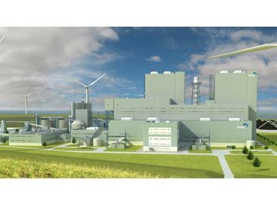 Bouwterrein kolencentrale Eemshaven ontruimd