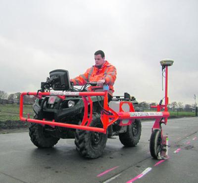 Road Plotter trekt automatisch stuurlijnen