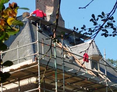 Geen loonsverhoging voor dakdekkers in 2014