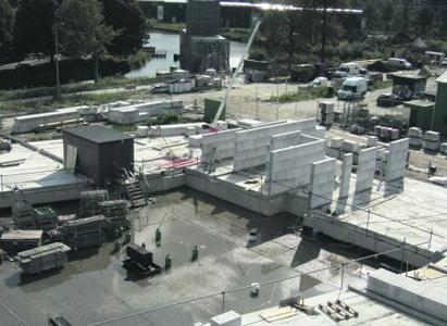 Glijfolie voorkomt thermische spanningen in nieuwbouw