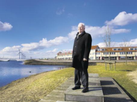 Interview over Dronten met wethouder Hans Engelvaart