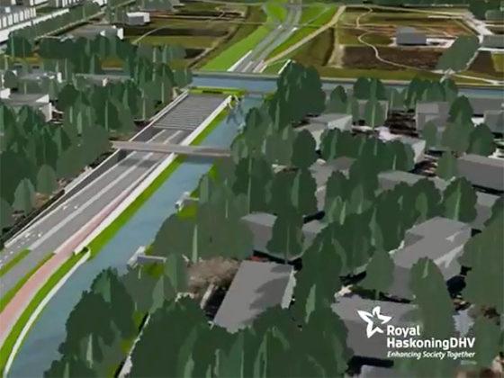 Vier sterren voor duurzaam aquaduct Leeuwarden