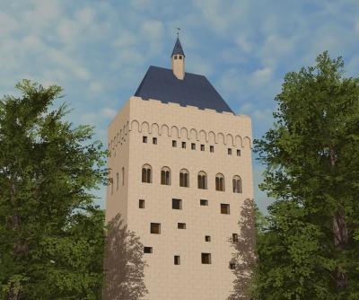 Nieuwe architect voor donjon Nijmegen