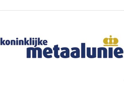 Aluminium Centrum start door onder Metaalunie