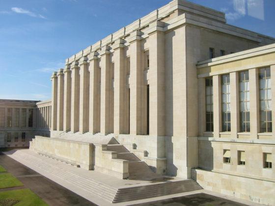Stalen ramen Paleis VN Genève vervangen
