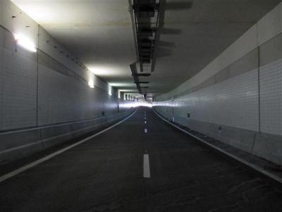 Waterwolftunnel open