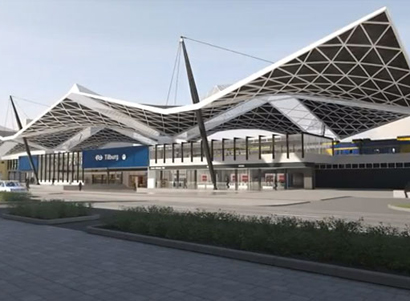 Besix verbouwt station van Tilburg