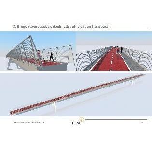 HSM bouwt nieuwe fietsbrug over kanaal