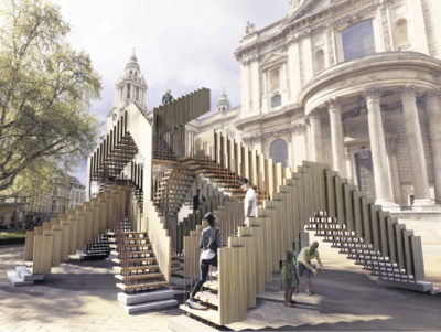 Eindeloze trap voor London Design Festival