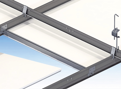 Ophangsysteem versnelt montage van plafond