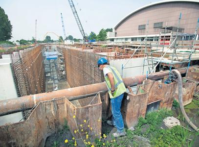 Driehonderd meter beton zonder bobbeltje