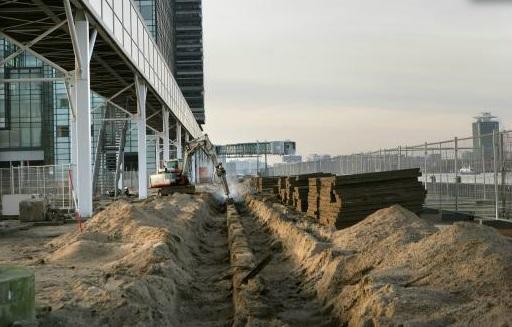 Minder overlast door graafwerk in Amsterdam